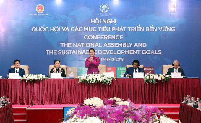 Việt Nam National Assembly plays an active role in the implementation of SDGs