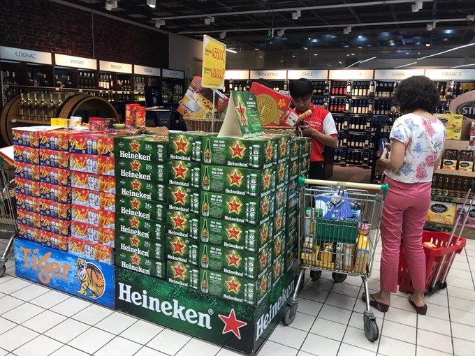 As Tết approaches beer market already fizzing
