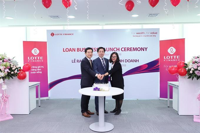 Lotte Finance offers consumer loans