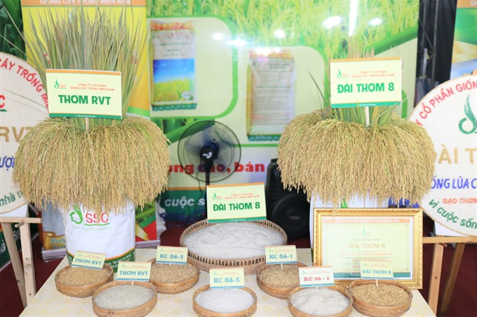 Việt Nams rice trademark unveiled at festival