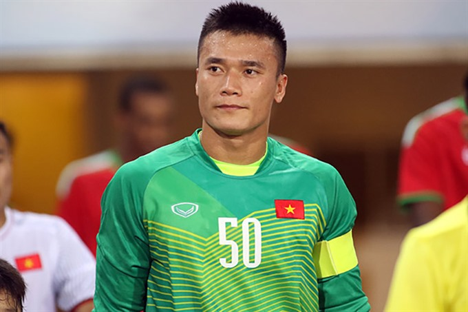 Sidelined AFF Cup goalkeeper Dũng is most popular on Facebook