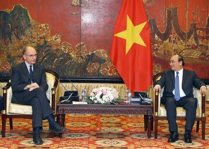 PM: Việt Nam-Italy strategic partnership records fruitful development