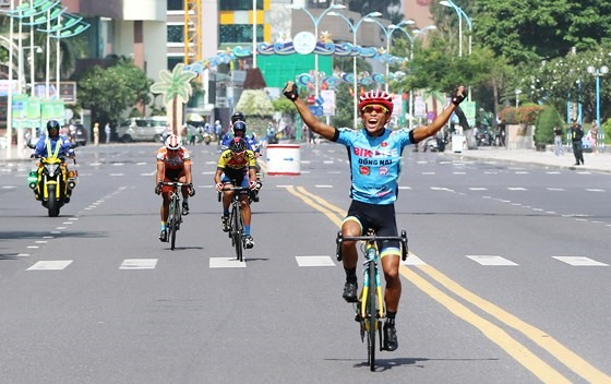 Vũ wins ninth stage of NKKN cyling tour