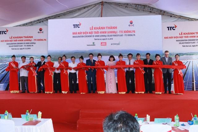TTC Group opens second solar power plant