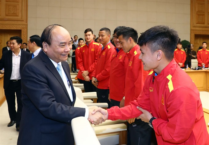 Prime Minister: Football inspires patriotism national pride