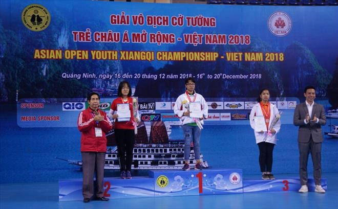 Việt Nam tops Asian Open Youth Xiangqi Championship