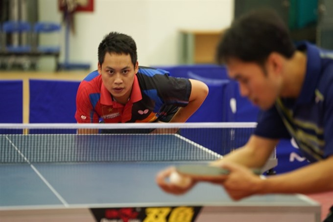 Athletes to compete at Hà Nội table tennis tournament