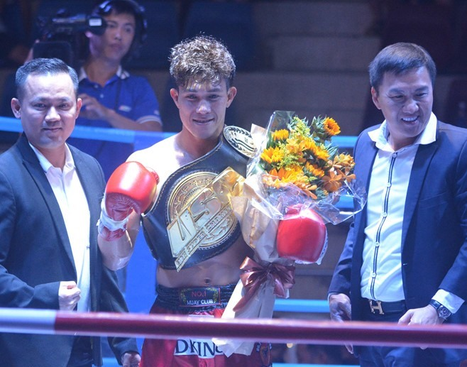 Vietnamese muay thai boxers defend their titles at USC event