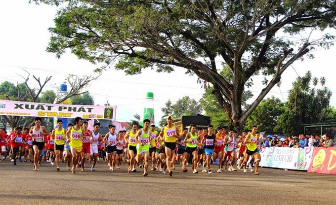 Runners to conquer Bà Rá Mountain in January