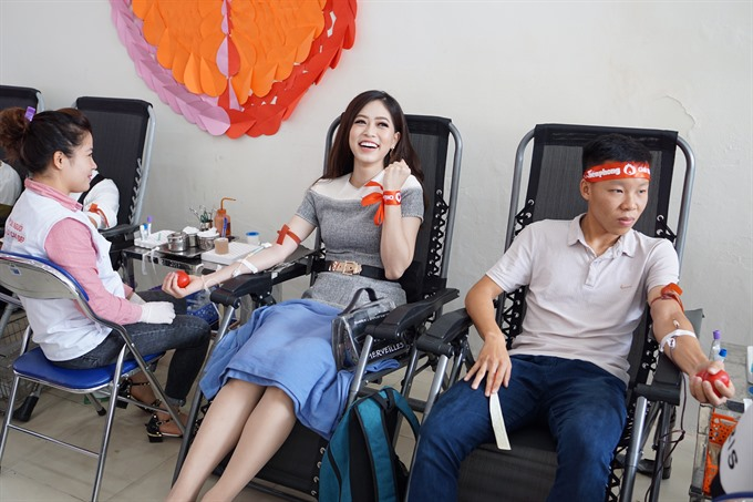 Red Sunday blood donation campaign starts in Hà Nội