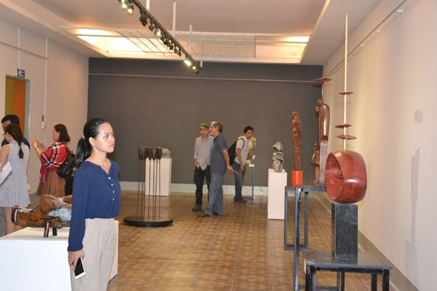 Sculpture exhibition on display at Fine Arts Museum