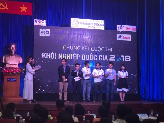Final round of start-up contest held winners to be announced next month