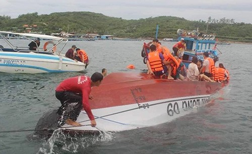 Chinese tourist among two dead as boat capsizes