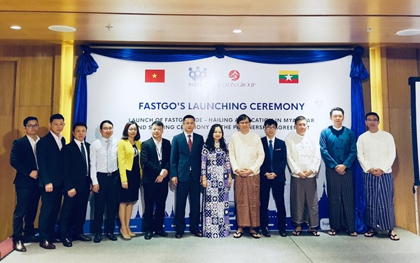 Vietnamese ride-hailing FastGo launched in Myanmar