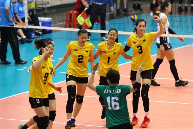 Bình Điền Long An win National Volleyball Champs