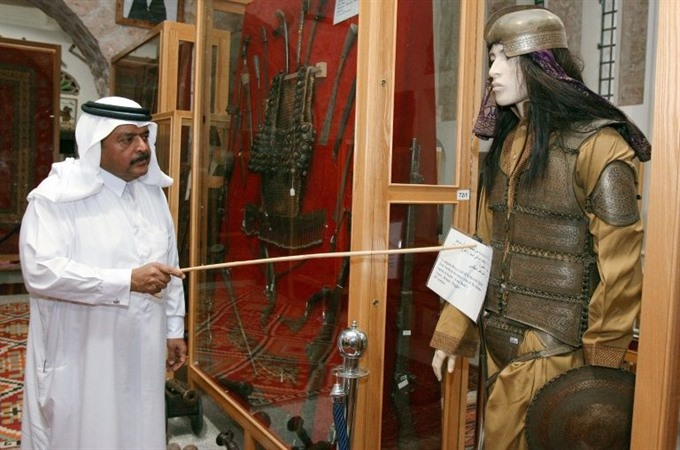 Gulf artworks show its surprising historical mix