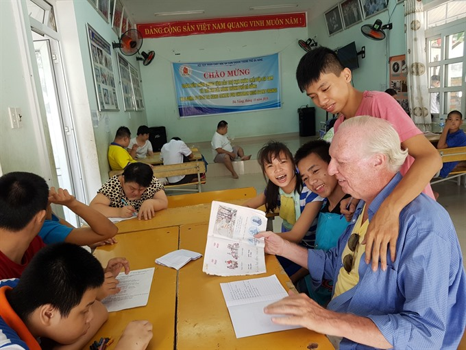American vet finds peaceful home in Đà Nẵng