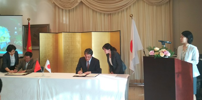 Japan continues providing grants to local development projects in VN