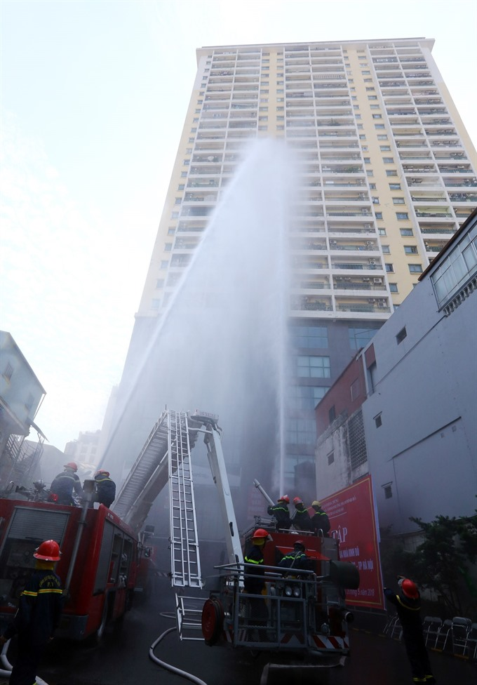 Hà Nội apartment builders ignore fire safety
