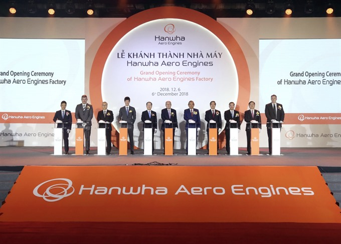 Việt Nams first aircraft engine parts factory launched