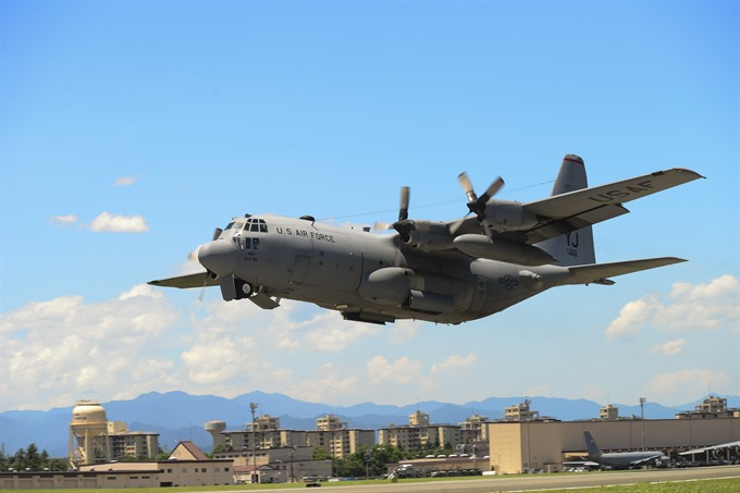 Six missing after two US military planes crash off Japan