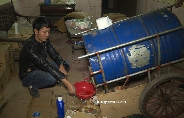 Fake lubricant oil seized in Hưng Yên