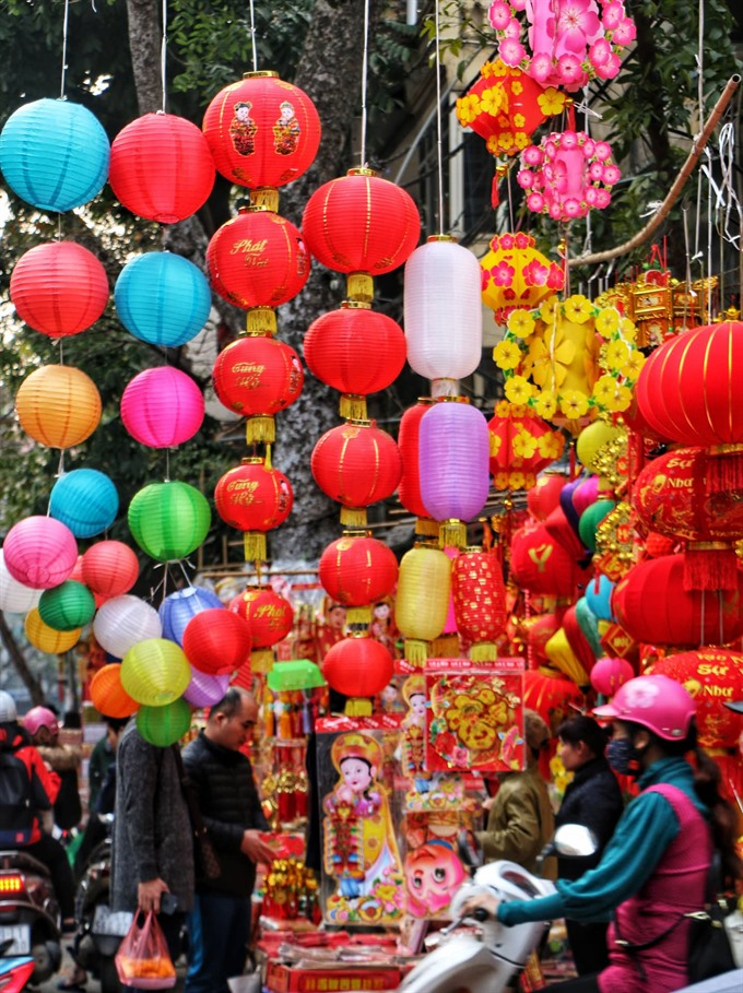 Hà Nội brightens up to celebrate Tết