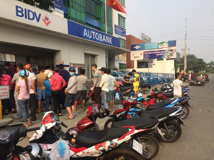ATM overload at industrial zones to be heated up