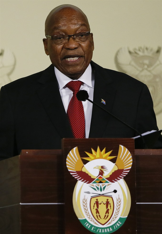 South Africas Zuma resigns forced out by own party