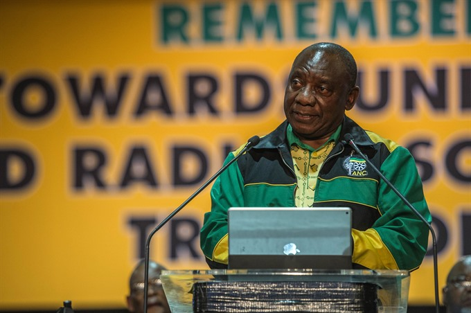 S.Africas new president vows to tackle state corruption