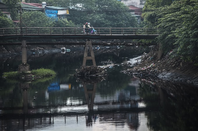 Nhuệ-Đáy river basin polluted despite clean-up efforts