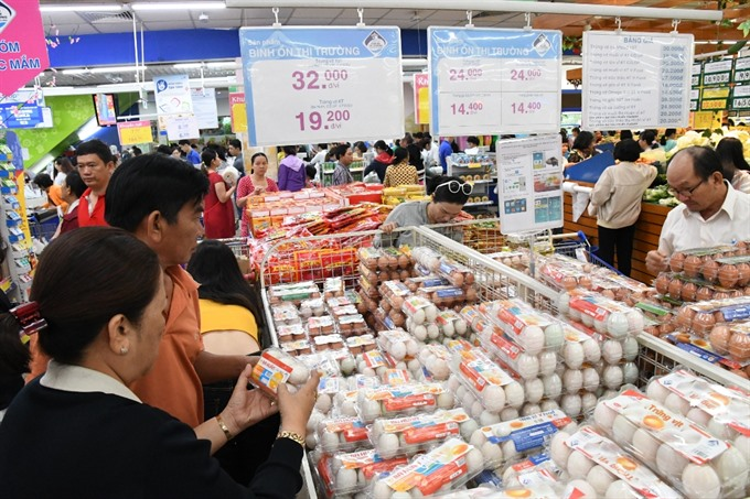 Saigon Co.op sales triple during Tết