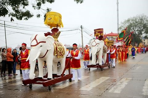 Temple festival honoured
