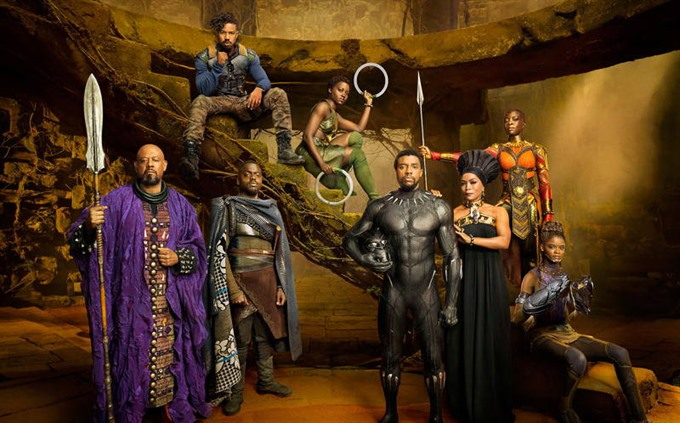 Black Panther again slays North American box office