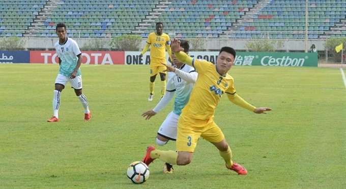 Thanh Hóa lose to Yangon United at AFC Cup