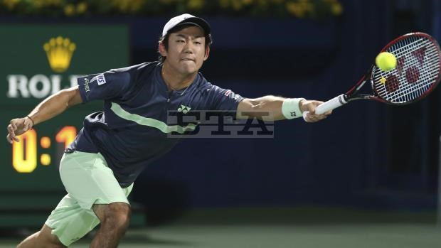 Nishioka beaten by Paire as he steps up injury comeback