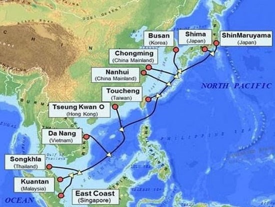 Internet connections slows in Việt Nam as intl undersea cable down