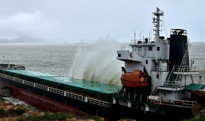 Quy Nhơn to sell damaged foreign ships