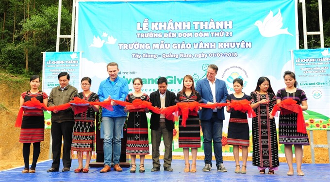 Dutch Lady charity builds 21st school in Việt Nam