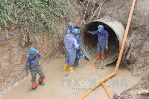 Trial on Đà River broken pipes starts on March 5