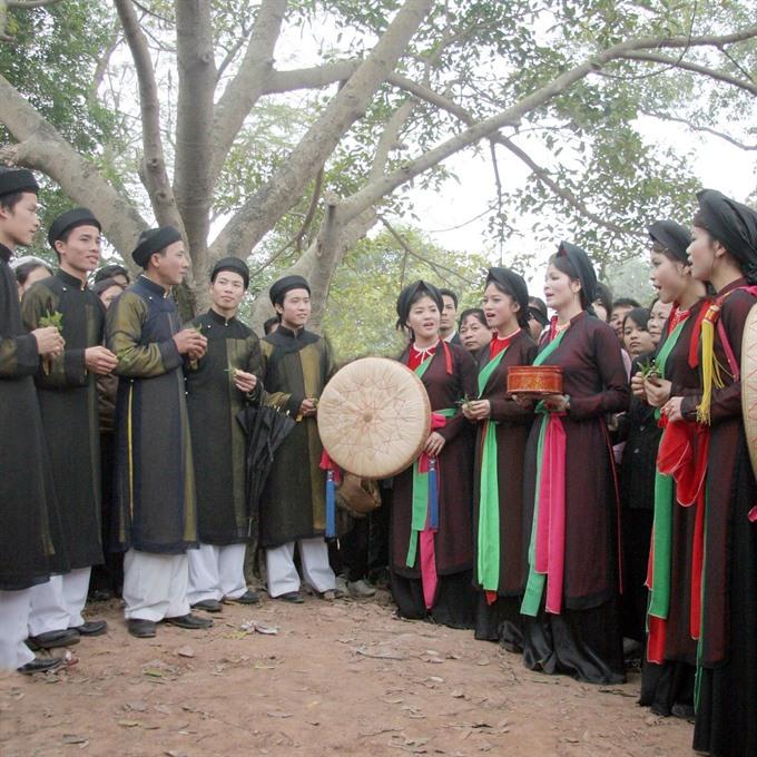 Bắc Ninh to host love duet singing festival