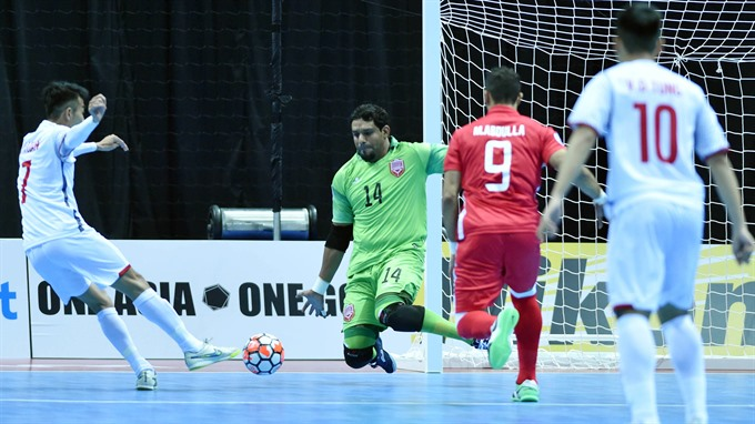 Việt Nam to repeat success at Asian futsal