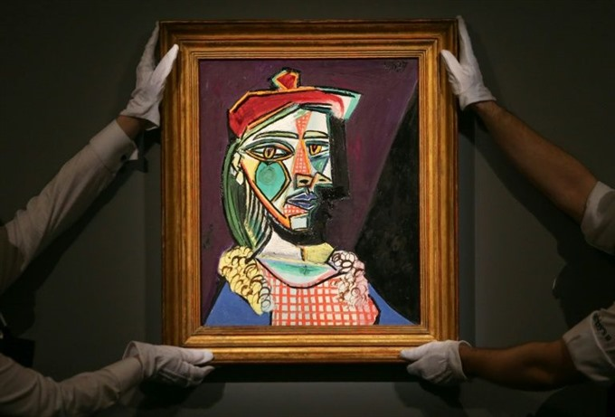 Picasso painting of muse future lover fetches European record £50 mln