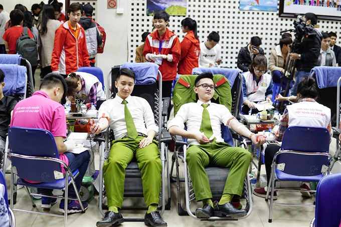 Red Spring blood donation festival takes place in Hà Nội
