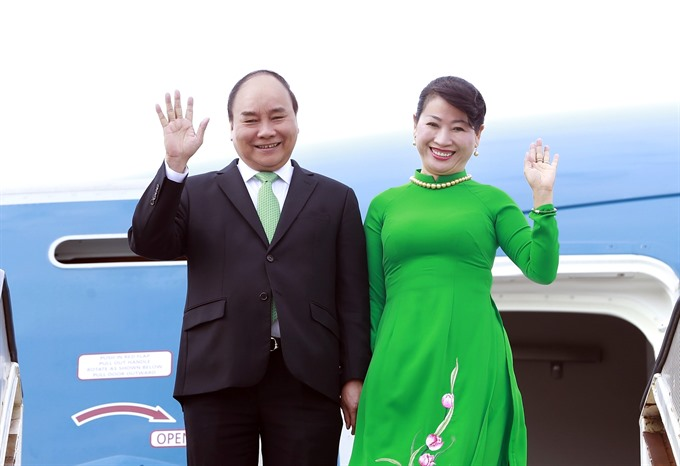 PM Nguyễn Xuân Phúc leaves for visits to New Zealand Australia
