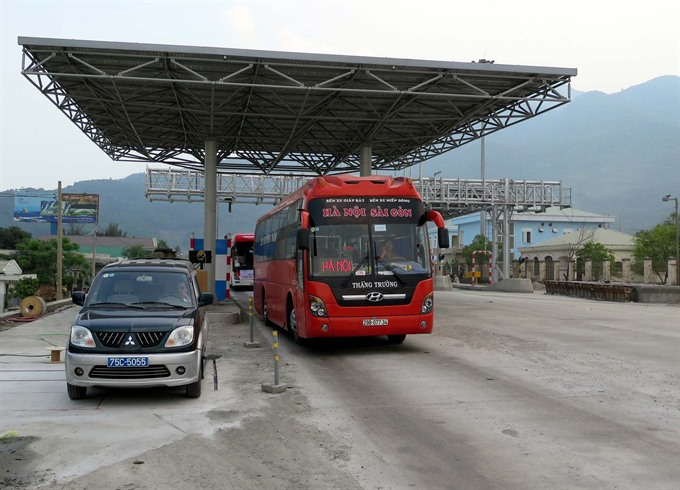 Hải Vân toll booth funds may serve two projects