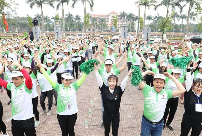 Herbalife VN athletic sponsor organises Fun Run ahead of Asiad