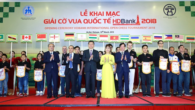 FIDE president has high expectations for Vietnam chess