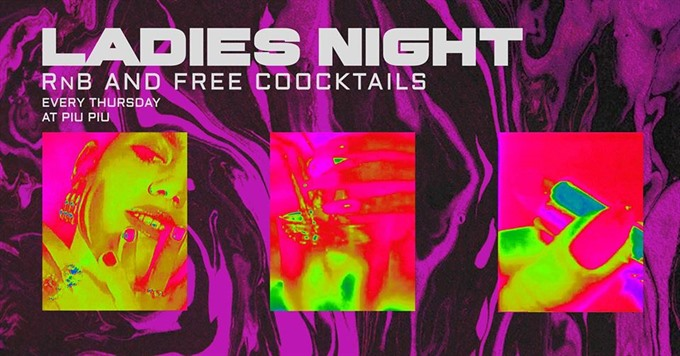 Ladies Night at Piu Piu Bar with DJ Sara Mapa