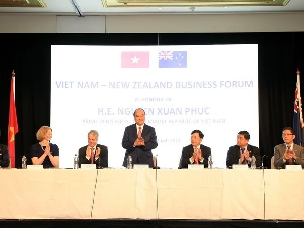 PM attends VN-New Zealand Business Forum